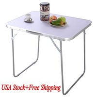 Wholesale 1X In Outdoor Portable Folding Table Picnic Party Dining Camping Desk White NEW