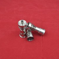 Wholesale titanium domeless nail nails titanium nails mm for water Pipe glass bong Smoking made from china