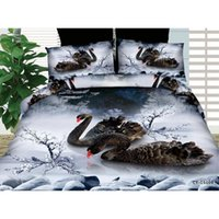 Wholesale D Cool animals bedding set polyester and cotton for queen size duvet cover set bedsheet linen quilt comforter set XQ
