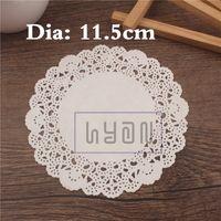 Wholesale White Paper Lace Mat Baking Packaing Mat cm oil absorbing sheets Cake Mat