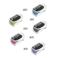 Wholesale OLED Fingertip Pulse Oximeter SPO2 Pulse Rate Oxygen Monitor Sound Alarm directions modes Display colors