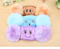 Wholesale 2016 Winter riding child with ear masks dust masks autumn and winter child warm masks two in one ear protection JF