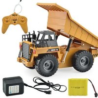Wholesale RC Truck CH Dump Plastic Tipper Lorry Car Remote Control Children Play Gift Toy