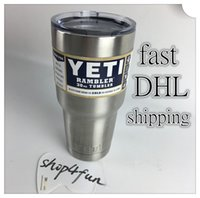 beer bottles labels - Yeti oz Cups Cooler YETI Rambler Tumbler Travel Vehicle Beer Mug Double Wall Bilayer Vacuum Insulated with Original Labels