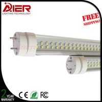 Cheap Super Bright Double Row LED T8 LED Tube 1200mm 25W 28W SMD 2835 Light Lamp Bulb 4 feet 1.2m led lighting fluorescent
