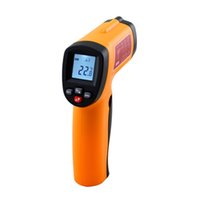 Wholesale 100 Orignal Smart Sensor thermometer AS330 non contact Digital infrared thermometer with laser degree