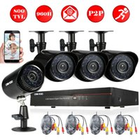 Wholesale OWSOO TVL Outdoor Security Camera System Full H D1 CH DVR P2P HDMI DVR Waterproof CCTV IR CUT Camera Set Home Security
