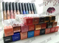beautiful liquids - Factory Direct DHL New Makeup Lips Beautiful Colors Lip Gloss Matte Liquid Lipstick Different Colors