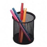 Wholesale SZS Black Steel Mesh Desk Pen Pencil Organiser Cup Holder Office School Supplier UK
