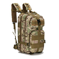 Wholesale Outdoor Military Army Tactical Canvas Backpack Camping Hiking Trekking Sport Camouflage Backpack