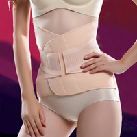 Wholesale Women s Elastic Fibers Breathable Abdominal Binder Trimmer Postpartum Recovery Belly Abdomen Slimming Shaper Belly Supports Body Shape Belt