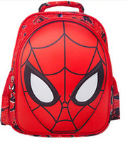 Wholesale Waterproof D Spiderman Design kids School Book Backpack For Boys Children s Fanny Packs Nylon Cloth