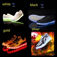 aa fabric colors - Low boost Led shoes for ghost dance led sneskers four colors sport trainers size boost kids adults led shoes for sale