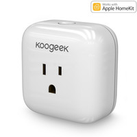Wholesale 2016 New Koogeek WiFI Home Smart Plug With Apple Homekit Support SiRi Control Monitor Energy Consumption P1