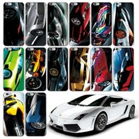 Wholesale Cool Apple Skins - Cool 3D Racing Sport Car Hard Plastic PC Case For Iphone SE 5 5S  6 6S Plus 6PLUS  For Galaxy S7 Edge S6 Edge Wheel Back Skin Luxury Cover
