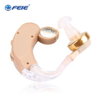 Wholesale Portable Feie Wireless Adjustable Hearing Aid Behind ear Sound Amplifier Personal Ear Care best gift S