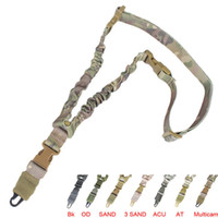 best rifle sling - Tactical Single Point Sling Adjustable Bungee Rifle Gun Sling Strap Tactical Single Point Gun Sling Best Price
