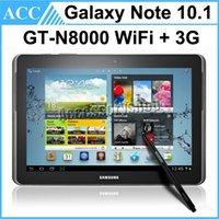 Wholesale Refurbished Original Samsung Galaxy Note inch N8000 GT N8000 GB WiFi G Quad Core GB RAM MP Camera Unlocked Tablet PC DHL