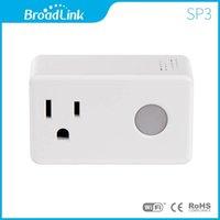 Wholesale Broadlink SP3 Smart Wireless Socket Mobile phone Remote Control EU US Standard Power Socket Wifi Smart Switch Travel Plug