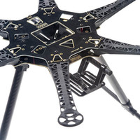 air gear motor - Newest FPV S550 Axis Multi Rotor Air Hexacopter PCB Frame With Landing Gear For FPV