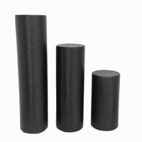Wholesale Durable High Density epp Foam Roller for Muscle Relaxation Blood Circulation and Physical Therapy Black Color cm cm cm