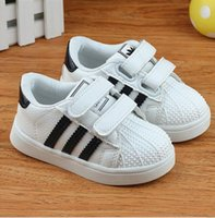baby quality sports shoes - Famous brand high quality Spring Autumn girls boys shoes patch light kids sneakers sport children baby shoes