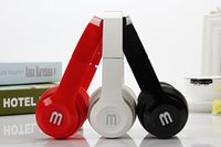 audio microphone for computer - 3 mm Wired Headphone Foldable Headset Music Stereo Bass Casque Audio With Microphone For Computer PC Gamer MP3 Player Headfone