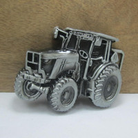 Wholesale Buckle Home fashion truck belt buckle with pewter finish FP with continous stock