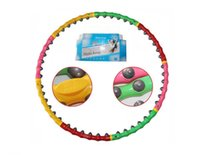 Wholesale 39 quot Hula Hoop Weighted lb Magnetic Therapy Massage Hula Hoop Weight Loss Fitness Abdominal Exercise