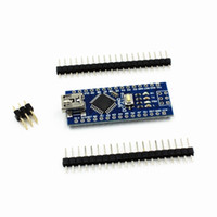 Wholesale For Arduino Kit USB Nano V3 ATmega328P V M Microcontroller CH340G Board B00290