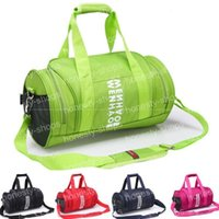 Wholesale 2016 Unisex Waterproof Duffle Bags Outdoor Travel Sport Bag Storage Messenger Shoulder Bag Barrel Purse Bags Color