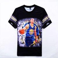 Wholesale New Fashion Men Women Basketball Bryant Tmac D Print T shirts