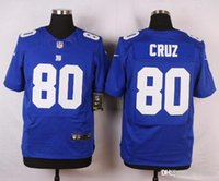 Wholesale 2016 New Arrivals Mens Giants Cruz Stitched Blue Jerseys Free Drop Shipping lymmia Mix order