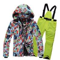 Wholesale Hot Sale New Arrival Brand ROSSIGNOL Men Outdoor Sport Skiing amp Snowboarding Jacket Set Water ResistanTo K Breathable Jackets