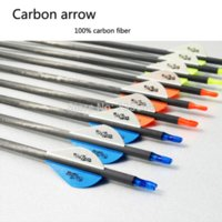 Wholesale 20x31 quot Carbon Arrow Spine for Archery and Bow hunting compound or recurve archery arrow rests for compound bows