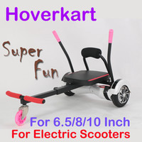 Wholesale Hoverkart Go kart Karting For Electric Scooters Inch smart balancing electric smart balance hoverboard Gokart kart HoverSeat