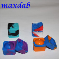 Wholesale Cheapest Top Quality silicone wax container silicone jar ml container square wax Container for wax mmX30mm dab wax Silicone container