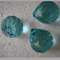 Wholesale 0pcs mm lt aqumarine crystal chandelier pandent for wedding amp ball chandelier garland strand pandent crystal chand
