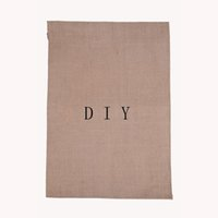 Wholesale Hanging DIY flags Linen Fairy Garden Flag quot quot Yard decoration flag Portable advertising banner factory price