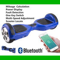 battery powered skateboards - 2016 Super Power APP Bluetooth Hoverboard with Music Speaker Bag inch Smart Scooter Balance Wheel Good Battery Self Balancing Skateboard