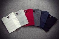 t shirts manufacturer - 2016 hot plate white t shirts men s T shirt manufacturer render short sleeved shirt of pure cotton plain joker color man AF clothing