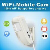 Wholesale 720P HD H WiFi Mobile Cam Home Security Wifi IP Camera