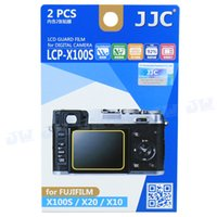 Wholesale JJC Anti smudge Anti reflecting Anti scratch High transmission LCD Guard Film Screen Protector for Fujifilm X100S X20 X10 Camera
