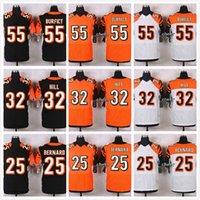 bernard football - Cheap Giovani Bernard Jeremy Hill Vontaze Burfict Tyler Eifert Discount football jerseys embroidery Mix Order
