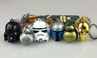 bb finder - Hot Movie Star Wars Keychain cm Darth Vader StormTrooper BB Yoda R2D2 C PO Metal Pendant Toy