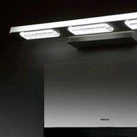 mirror cabinet - Newest Modern minimalist stainless steel mirror lamp LED W W bathroom makeup cabinet waterproof LED lamp