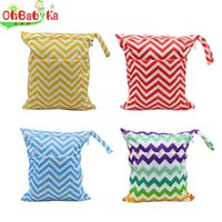 baby wipes lot - 10pcs OhBabyKa Baby Changing Bag Diaper Backpack Double Zipper Baby Diaper Bags Mochila Maternal Wet Dry Bag Charater Print Nappy Bags