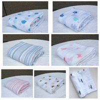 Wholesale Baby Muslin blanket aden anais baby swaddle wrap blanket towelling blanket Aden Anais Swaddling Ins Blankets Robes Quilt cm KKA771