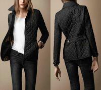 autumn jackets for women - Hot Sale Quilted Jackets For Women Luxury Brand Designer Women Coats Autumn Winter Outwear Black Beige