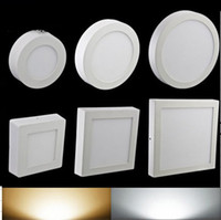 Wholesale Beensom LED Panel Light V w w w w Surface mounted led downlight Round panel light SMD2835 Ultra thin circle recessed downlight